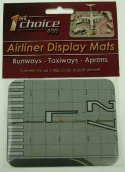 Individual Aircraft Runway Display Mat - Small (1:400)