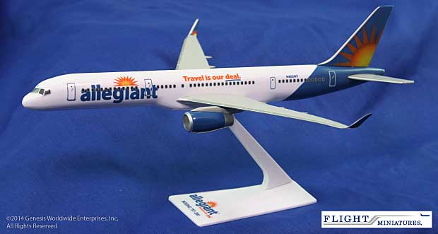 Allegiant Air 757-200 (1:200) w/winglets