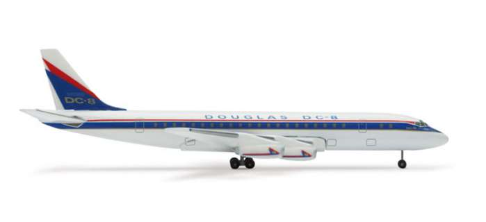 "Douglas DC-8-11 ""Ship One 50TH""  (1:500)"
