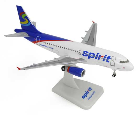 Spirit A319 New Colors (1:200) W/Gear