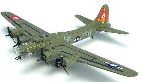 "B-17G Flying Fortress 303rd BG 359th BS ""Thunderbird"" (1:200)"