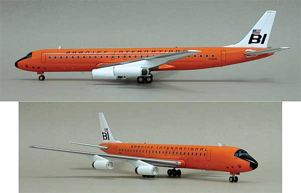 Braniff DC-8-62 N1809E (1:200) - Limited to 100 models