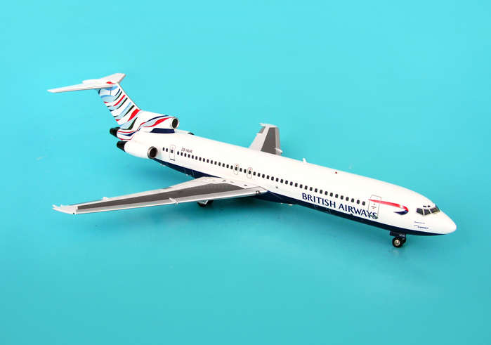 British Airways Comair USA 727-200 ~ZS-NVR