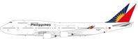 Philippine Airlines Boeing 747-400 RP-C8168 70 years markings (1:200)