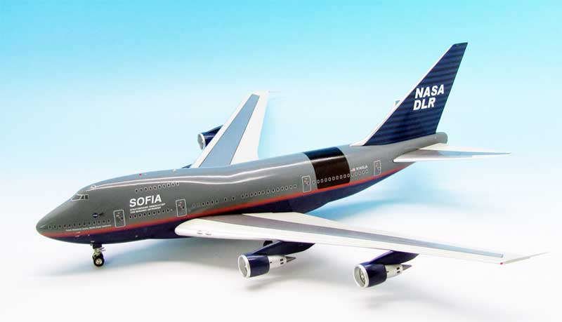 NASA 747P Sofia DLR N145UA (1:200) 1998 Test Flight Livery