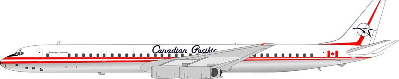 Canadian Pacific DC-8-63 CF-CPP (1:200) Old Colors, Polished Belly