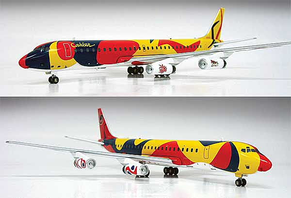 "Braniff International Airways DC-8-62 ""Calder"" ~N1805 (1:200)"