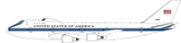 "United States of America E-4B 747-200 ""Airborne Command Post"" 40787 (1:200)-SECOND"