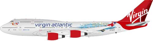 "Virgin Atlantic 747-400 ""Harry Potter"" (1:200)"