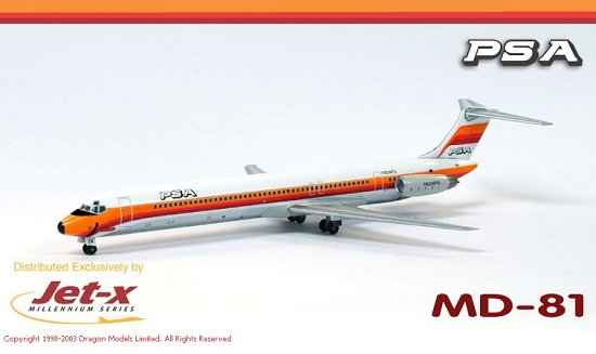 PSA MD-80 Twin Pack with GSE (1:400)