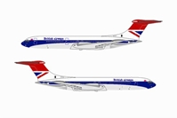 "British Airways VC-10 ~ G-ARVM ""Hybrid Livery"" (1:400)"