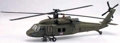 UH-60 Black Hawk Helicopter with Stand (1:60)