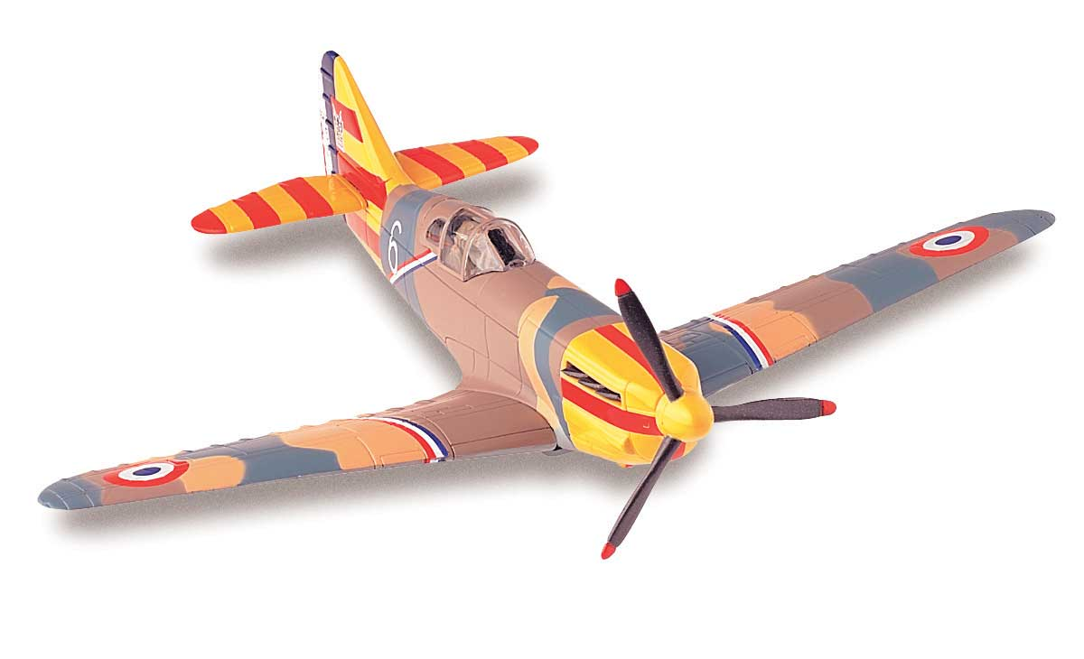 Dewoitine D.520 (1:72) Easy Build Model Kit