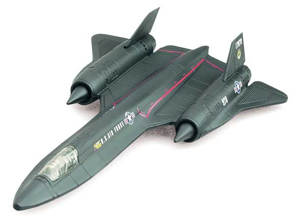 SR-71 Blackbird (1:72) Easy Build Model Kit