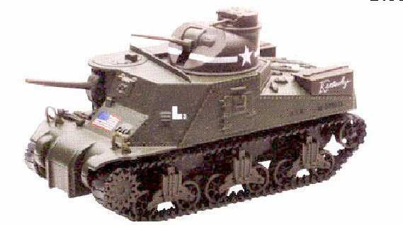 M3 Lee Tank (1:32) Easy Build Model Kit