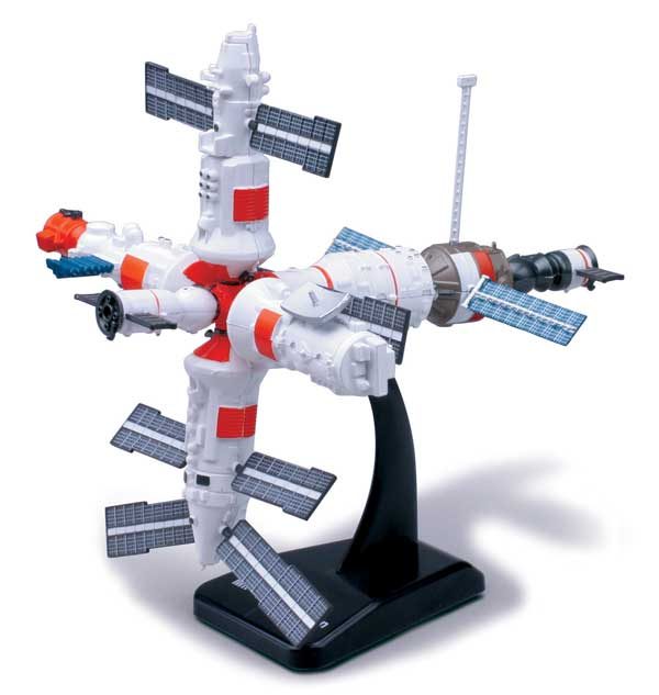 Easy Build Space Station Model Kit - Easy Build Toy ...