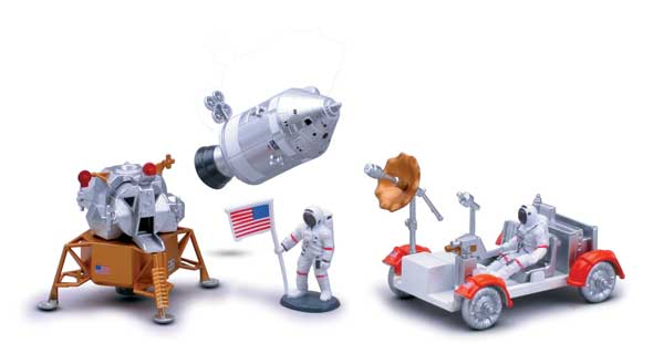 Easy Build Lunar Rover Model Kit