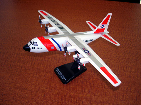 US Coast Guard C-130 (1:110) - Easy Build Kit