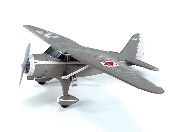 Wings of Texaco Airplane Series #20 (2012) - 1937 Stinson Reliant (1:43) - Special Brushed Metal Version!