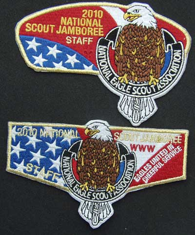 NESA Jamobree CSP and Flap Eagle Scout, Jamboree, BSA, OA, CSP, Shirt Flap, NESA