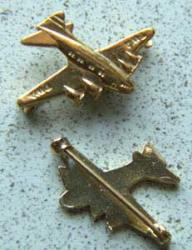 TWA Stratoliner Aircraft Sterling Pin