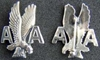American Airlines Service Pin  Sterling Silver