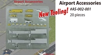 Airport Accessories (1:400) Set 20 Pieces NEW TOOLING!