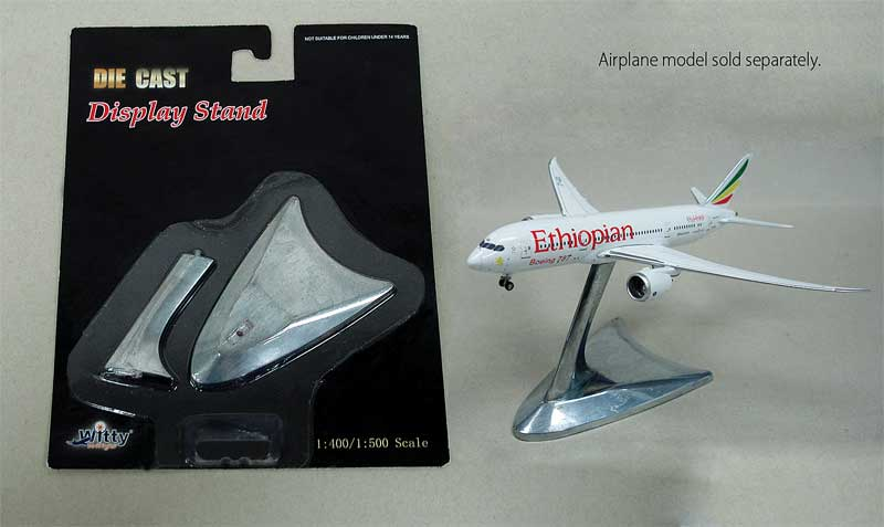 Witty Wings Display Stand for 1:400 and 1:500 Scale Airliners