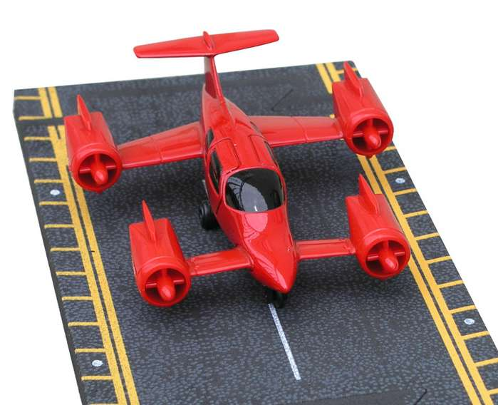 "Moller Air Car (Approx. 5"")"