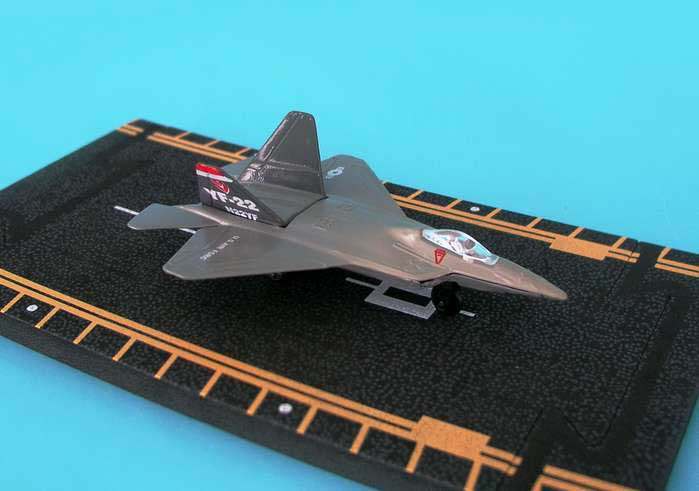 "YF-22 Raptor (With Military Markings) (Approx. 5"")"