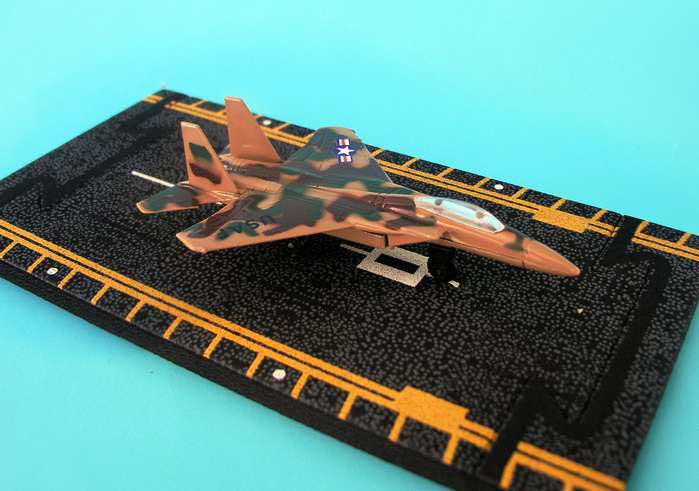 "F-15 Eagle (With Military Markings) (Approx. 5"")"
