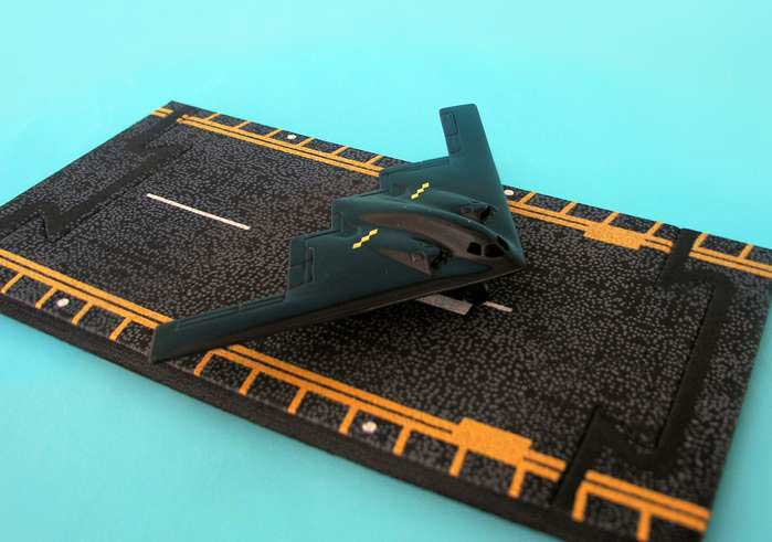 "B-2 Spirit Stealth Bomber (Approx. 5"")"