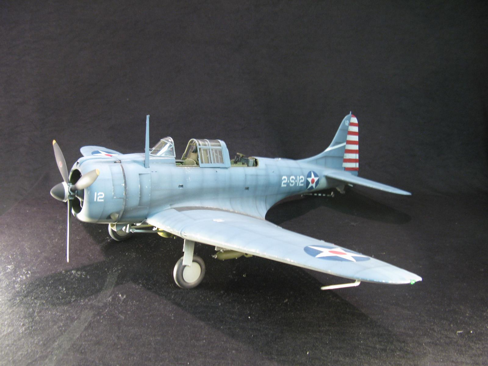 "SBD-3 ""Dauntless"" VS-2 USS Lexington, May 7th, 1942 ""Battle of the Coral Sea"" (1:18)"