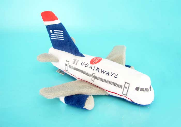 US Airways Plush Plane W/Sound