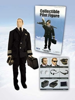 Generic Commercial Pilot Doll