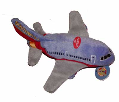 Southwest Airlines Plush Toy