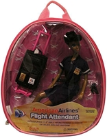 American Airlines Flight Attendant Doll