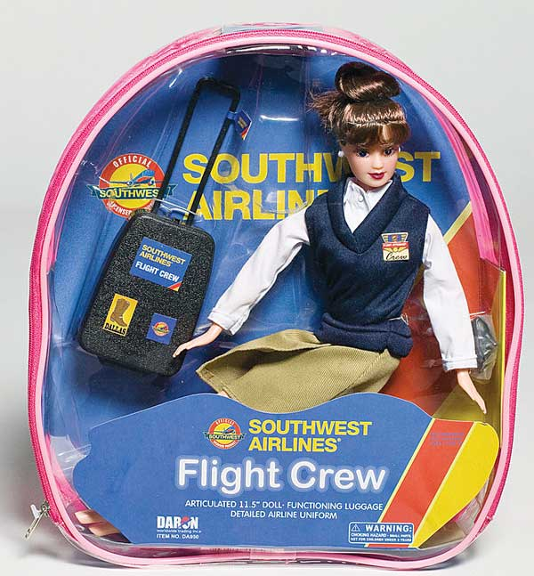 Southwest Airlines Flight Attendant Doll