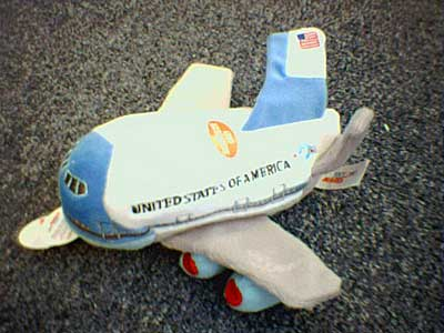 Air Force One Plush Toy