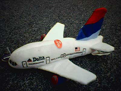 Delta Airlines Plush Toy