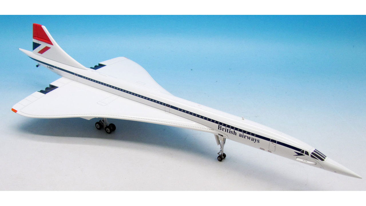 "British Airways Concorde G-BBDG Polished ""Red Tail"" (1:200) - Exclusive for Brooklands Museum - Preorder item, order now for future delivery"