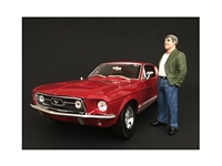 70s Style Figure VII For 1:18 Scale Models by American Diorama