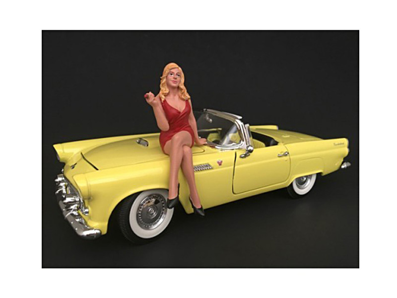 70's Style Figure IV For 1:24 Scale Models by American Diorama