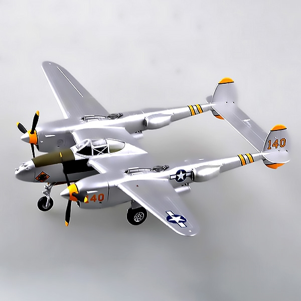 P-38 Lightning Maj Elliot Summer (1:72)