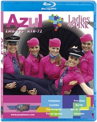 Azul Pink EMB-195 ATR-72 (BluRay DVD)