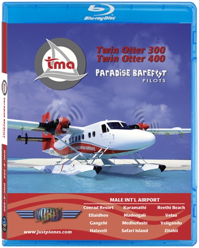 Trans Maldivian Twin Otter 300-400 (BluRay DVD)