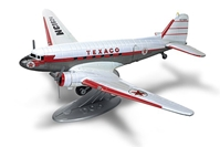 1953 Douglas DC-3, Wings of Texaco Airplane Series #25 2017 Regular Edition in White with Texaco Graphics (1:72) - Preorder item, order now for future delivery