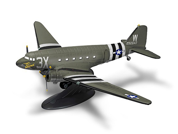 "Douglas C-47 Skytrain, Wings of Texaco Airplane Series #25 2017 Special Edition, D-Day Invasion, ""That's All Brother"" (1:72) - Preorder item, order now for future delivery"