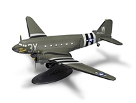 "Douglas C-47 Skytrain, Wings of Texaco Airplane Series #25 2017 Special Edition, D-Day Invasion, ""That%27s All Brother"" (1:72) - Preorder item, order now for future delivery"