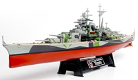 German Battleship Tirpitz Norway 1943 (1:700)